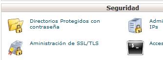 Proteger directorio cPanel - 1